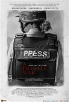 A Private War movie poster