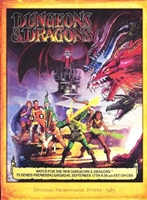 Dungeons & Dragons movie poster
