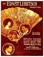 Lady Windermere's Fan movie poster