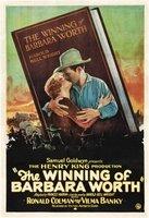 The Winning of Barbara Worth movie poster