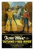 Outlaws of Red River movie poster