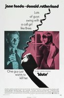 Klute movie poster