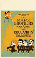 The Cocoanuts movie poster