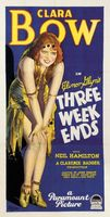 Three Weekends movie poster
