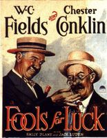 Fools for Luck movie poster