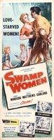 Swamp Women movie poster