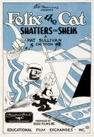 Felix the Cat Shatters the Sheik movie poster