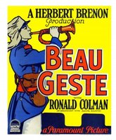 Beau Geste movie poster