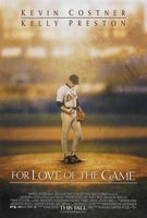 For Love of the Game movie poster
