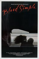 Blood Simple movie poster
