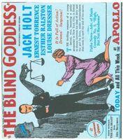 The Blind Goddess movie poster