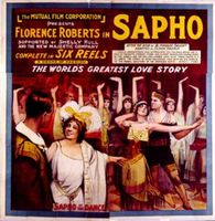 Sapho movie poster