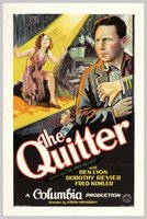 The Quitter movie poster
