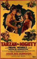 Tarzan the Mighty movie poster