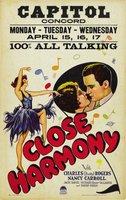 Close Harmony movie poster