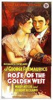Rose of the Golden West movie poster