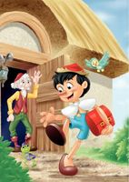 The Adventures of Pinocchio movie poster