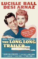 The Long, Long Trailer movie poster