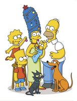 The Simpsons movie poster