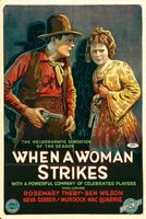 When a Woman Strikes movie poster