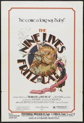 The Nine Lives of Fritz the Cat poster #671946