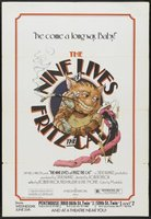 The Nine Lives of Fritz the Cat #671946 movie poster