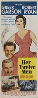 Her Twelve Men movie poster