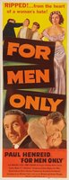 For Men Only movie poster