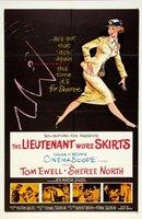 The Lieutenant Wore Skirts movie poster
