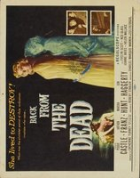 Back from the Dead movie poster
