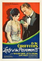Lady of the Pavements movie poster