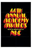 The 44th Annual Academy Awards movie poster