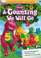Barney: A-Counting We Will Go movie poster