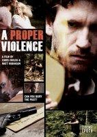 A Proper Violence movie poster