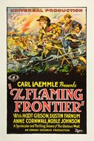 The Flaming Frontier movie poster