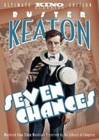 Seven Chances movie poster
