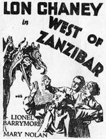 West of Zanzibar movie poster
