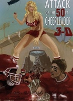Attack of the 50ft Cheerleader movie poster