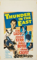 Thunder in the East movie poster