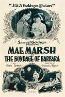 The Bondage of Barbara movie poster