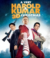 A Very Harold & Kumar Christmas movie poster
