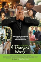 A Thousand Words movie poster