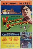 Violent Saturday movie poster