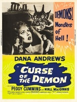 Night of the Demon movie poster