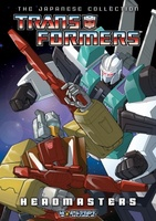 Transformers: The Headmasters movie poster