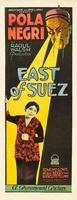East of Suez movie poster