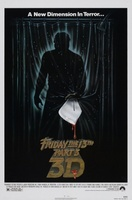 Friday the 13th Part III movie poster