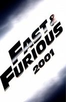 The Fast and the Furious movie poster