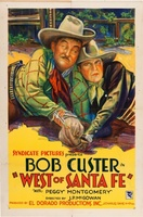 West of Santa Fe movie poster