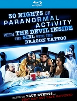 30 Nights of Paranormal Activity with the Devil Inside the Girl with the Dragon Tattoo t-shirt #783865